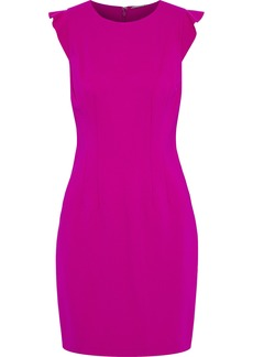 Elie Tahari Woman Stefana Ponte Mini Dress Fuchsia