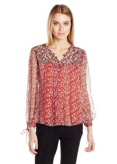 Elie Tahari Women's Brunella Blouse  XL