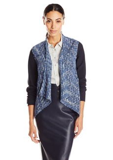 Elie Tahari Women's Claire Tweed Open Jacket