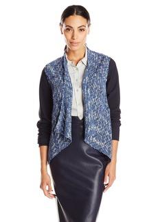 Elie Tahari Women's Claire Tweed Open Jacket