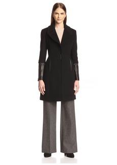 Elie Tahari Women's Dawson Wool Coat
