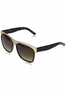 Elie Tahari Women's EL189 Rectangular Sunglasses