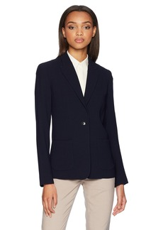 Elie Tahari Women's Fluid Crepe Business Casual Wendy Jacket