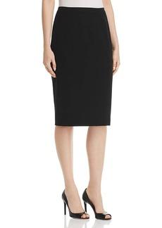 Elie Tahari Women's Fluid Crepe HARLA Pencil Skirt