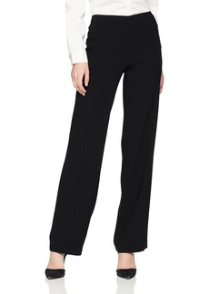 Elie Tahari Women's Fluid Crepe Suiting Odette Pant