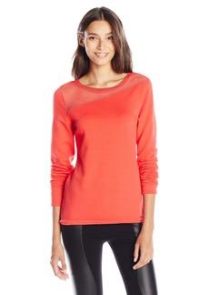 Elie Tahari Women's Kaori Long-Sleeve Knit Sweater
