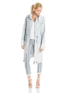 Elie Tahari Women's Kendra Linen Anorak Coat