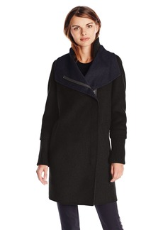 Elie Tahari Women's Mika Double Face Wool Coat