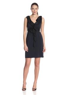 Elie Tahari Women's Patrice Ruffled Silk Georgette Dress