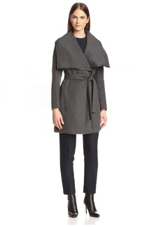 Elie Tahari Women's Portland Double-Faced Wrap Coat