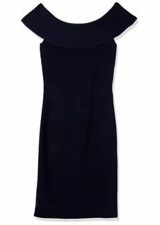 Elie Tahari Women's Ruthie Sweater Dress  L