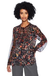 Elie Tahari Women's SCARLA Blouse  XL