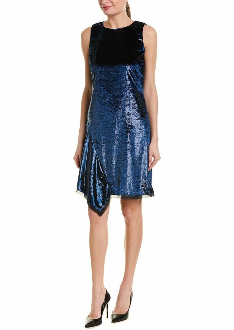 Elie Tahari Women's Tinsel Velvet Serenity Dress