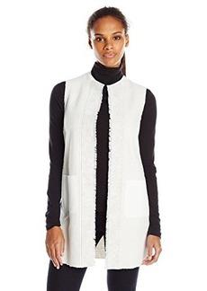 Elie Tahari Women's Verina Vest Creme