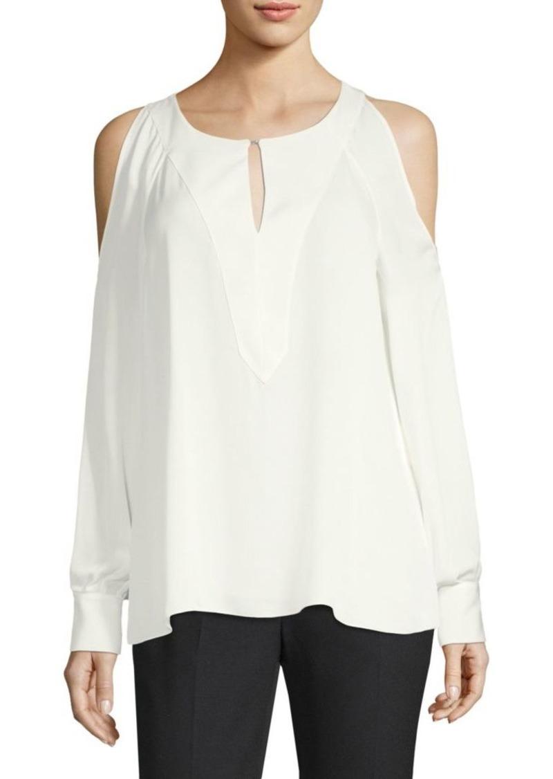 59ecacd28677 Elie Tahari Wyatt Silk Blouse | Casual Shirts