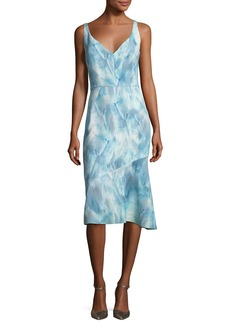 Elie Tahari Yirma Graphic-Print Sleeveless Dress