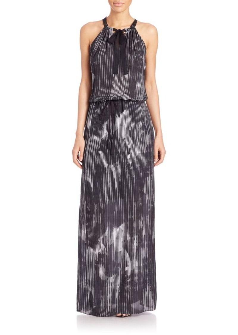 Elie Tahari York Printed Maxi Dress