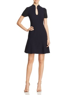 Elie Tahari Yuki Short-Sleeve Dress