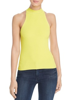 Elie Tahari Zelda Sleeveless Ribbed Sweater