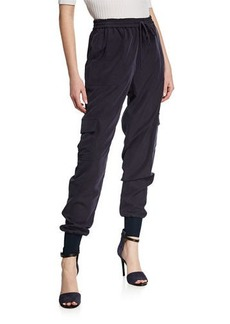 Elie Tahari Zuma Pull-On Cargo Pants