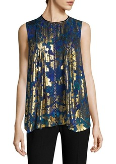 Elie Tahari Elle Sleeveless Blouse