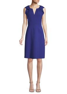 Elie Tahari Elleanora Flounced A-Line Dress