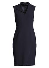 Elie Tahari Elodie Structured Crepe Dress