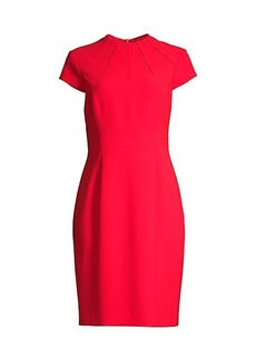 Elie Tahari Freida Pintuck Suit Dress