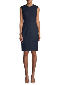 Elie Tahari Galiena Sleeveless Sheath Dress