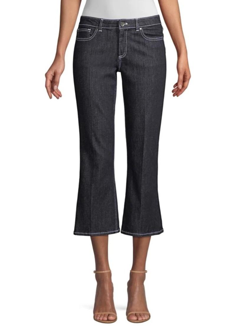 Elie Tahari Gianina Cropped Jeans