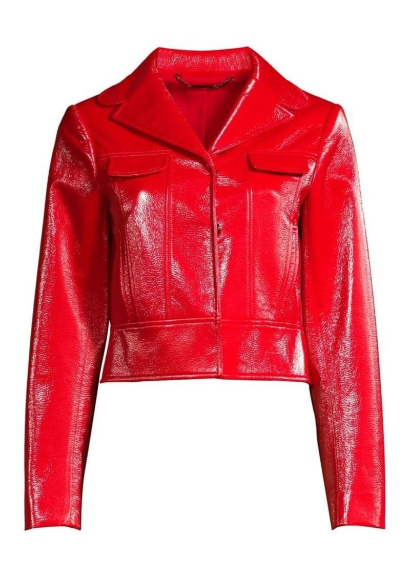 Elie Tahari Gigi Moto Jacket