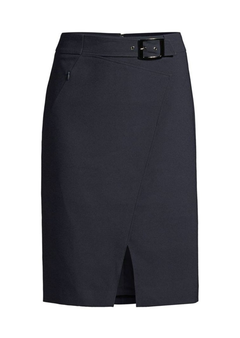 Elie Tahari Gracelyn Belted Pencil Skirt