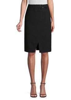 Elie Tahari Gracelyn Belted Pencil Skirt