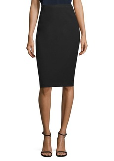 Elie Tahari Harla Fluid Crepe Pencil Skirt