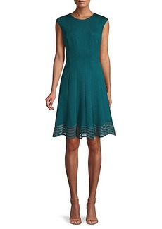 Elie Tahari Heidi A-Line Dress