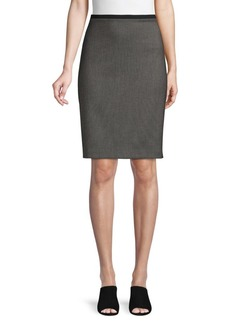 Elie Tahari High-Waist Pencil Skirt