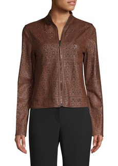 Elie Tahari Highline Leather Jacket