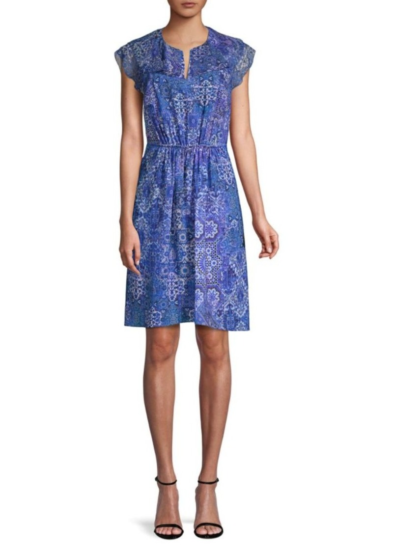 Elie Tahari Imogen Printed Dress