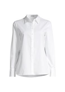 Elie Tahari Ingunn Poplin Stretch Shirt