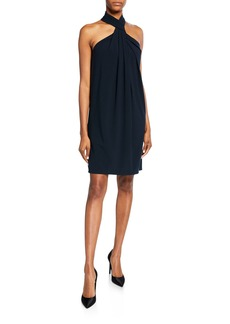 Elie Tahari Ivanna Halter Dress