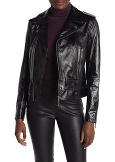 Elie Tahari Jacalyn Leather Jacket