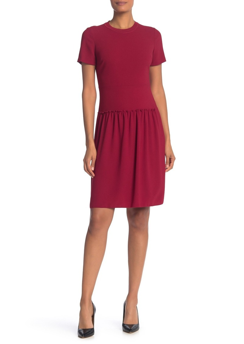 Elie Tahari Jay Ruffle Hem Dress