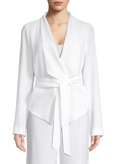 Elie Tahari Jenn Self-Tie Jacket