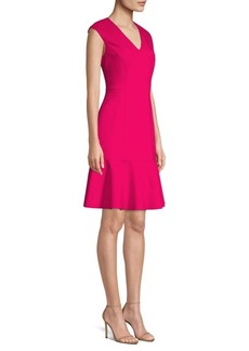 Elie Tahari Kadisha A-Line Knit Dress