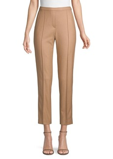 Elie Tahari Karis Brushed Wool Pants