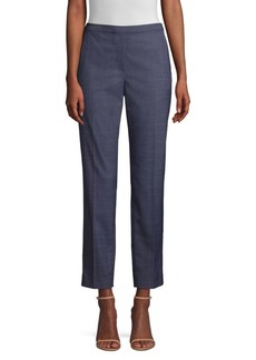 Elie Tahari Karis Check Ankle Pants