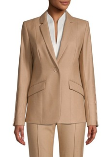 Elie Tahari Kash Brushed Wool Jacket