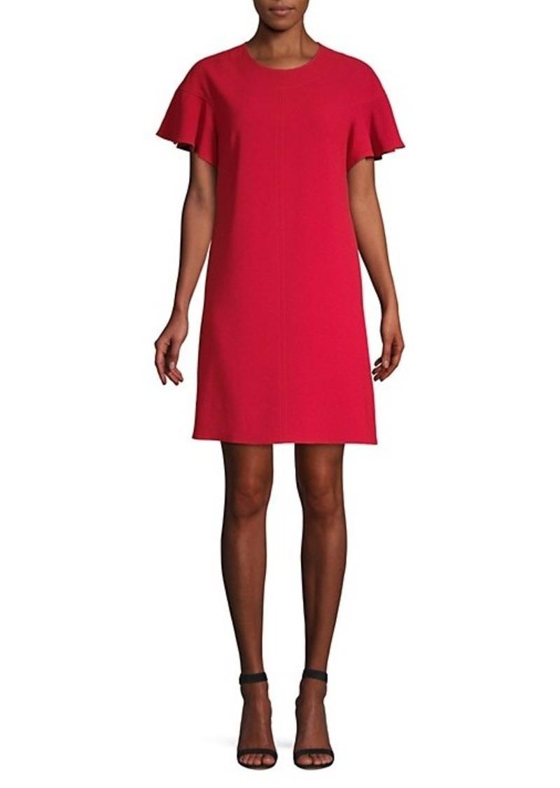 Elie Tahari Krystal Back Button Shift Dress