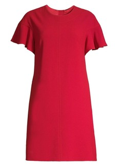 Elie Tahari Krystal Back Button Shift Dress