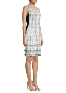 Elie Tahari Leontine Tweed Dress